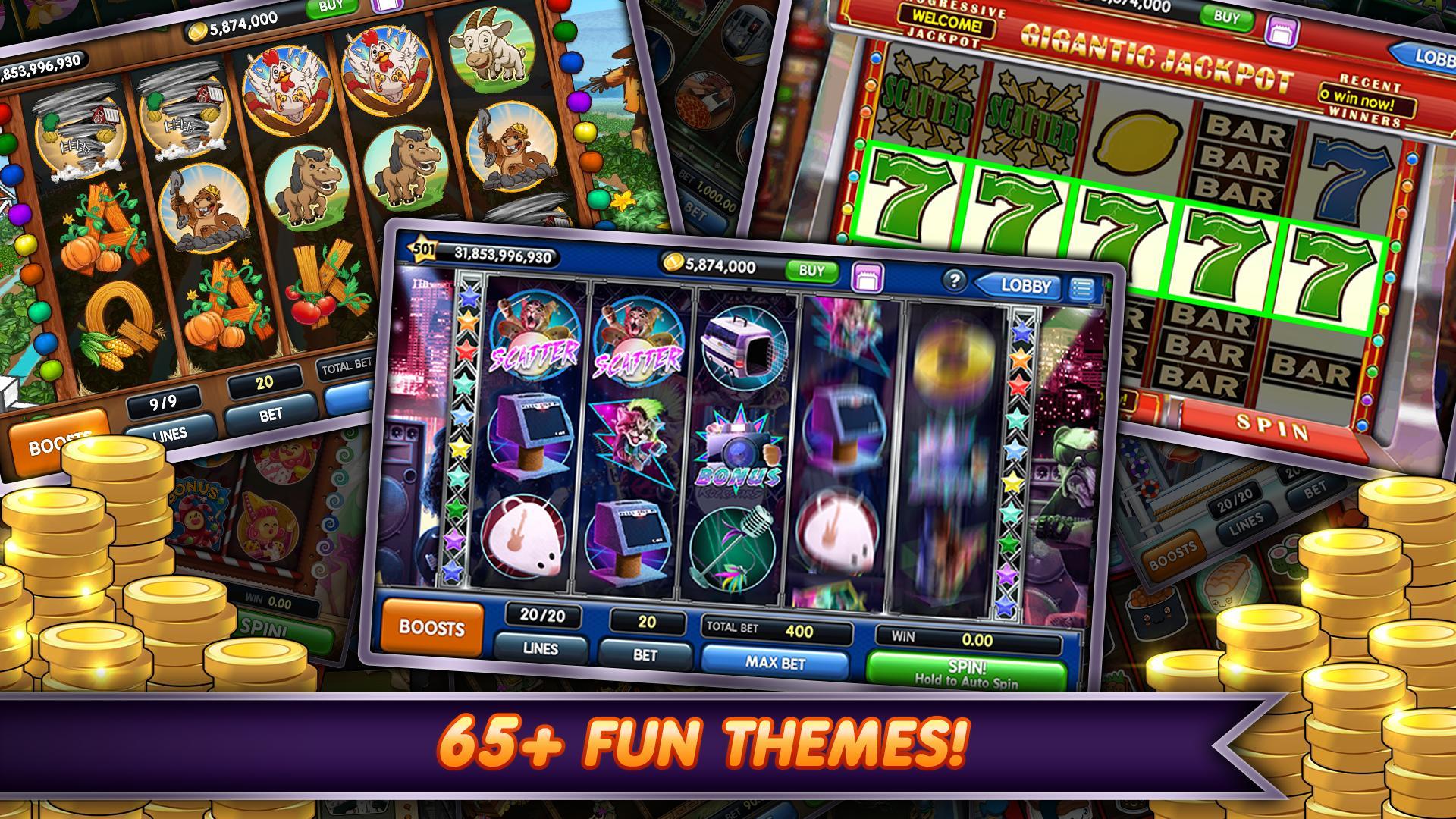 Top 7 Online Slots Games